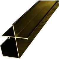 <LOHACO> アルインコ(ALINCO) 波板用前枠 2.4M ブロンズ BA171B 1本 384-7608 (直送品)画像