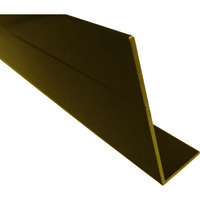 <LOHACO> アルインコ(ALINCO) 波板用側枠 2.4M ブロンズ BA172B 1本 384-7624 (直送品)画像