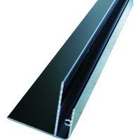 アルインコ アルインコ 波板用コーナー見切(片) 2.4M ブラック BA174K 1本 384ー7675 (直送品)