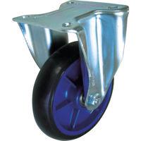 イノアック車輪 イノアック 低始動抵抗キャスター 旋回金具付 Φ150 黒 LR150WKBK 1個 384ー7195 (直送品)