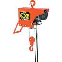 スリーエッチ HHH 電気ホイスト 200kg 揚程6m ZS200 1台 327ー7461 (直送品)