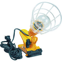 ハタヤリミテッド ハタヤ 軽便ランプ 単相100V 100W耐震電球付 電線5m KL100 1台 370ー3576 (直送品)