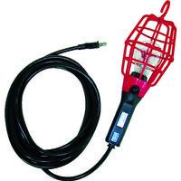 ハタヤリミテッド ハタヤ 補助コードランプ 60W耐震電球付 電線10m ランプガード赤 ILI10R 1台 370ー3461 (直送品)