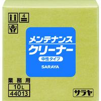 サラヤ(SARAYA) サラヤ 油汚れ用洗浄剤 メンテナンスクリーナー 10L 44013 1個(10000mL) 381-2146(直送品)