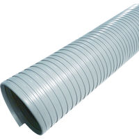 カナフレックス 硬質ダクトN.S.型 特殊オレフィン系樹脂 10m 380-1209 (直送品)