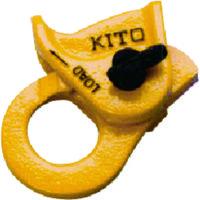 キトー キトー クリップ ワイヤー8から10mm用 KC100 1個 375ー1104 (直送品)