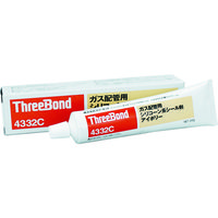 スリーボンド(ThreeBond) ガス配管用シリコーン系シール剤 TB4332C TB4332C 1本 374-8804 (直送品)