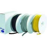 トラスコ中山(TRUSCO) 安心クッションはさみこみ型ロール巻き 30m ブラック TAC-930BK 1巻 374-7751 (直送品)