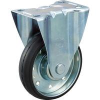 トラスコ中山 TRUSCO ハイテンプレス製ゴム車 固定金具付 φ130 HTTK130 1個 392ー5757 (直送品)