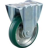 トラスコ中山 TRUSCO ハイテンプレス製ウレタン車 固定金具付 φ130 HTTUK130 1個 392ー5846 (直送品)
