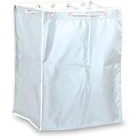 テラモト(TERAMOTO) BMダストカー袋 小エコ袋 白 DS-232-710-8 1枚 282-0005 (直送品)