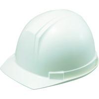 TRUSCO(トラスコ中山) 電気用 ヘルメット 前ひさし型 ホワイト DPM0169W 1個 381-7814 (直送品)