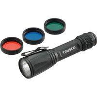 トラスコ中山 TRUSCO アルミLEDライト 170ルーメン カラーレンズ3色付 TALC1512L 1個 384ー1626 (直送品)