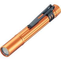 トラスコ中山 TRUSCO アルミLEDライト 1球 10ルーメン ペンタイプ オレンジ TAL21ANO 1個 374ー5945 (直送品)