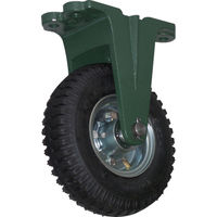 トラスコ中山 TRUSCO 鋼鉄製運搬車用空気タイヤ 鋳物金具固定Φ223(2.50ー4) OARK223 1個 389ー9390 (直送品)