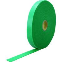 トラスコ中山 TRUSCO マジックケーブルロールタイ 幅15mm×長さ10m 緑 TRMGTP15GN 1巻 384-3254 (直送品)