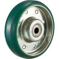 トラスコ中山 TRUSCO ハイテンプレス製ウレタン車輪のみ φ150 HTUW150 1個 392ー5889 (直送品)