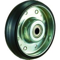 トラスコ中山 TRUSCO ハイテンプレス製ゴム車輪のみ φ100 HTW100 1個 392ー5897 (直送品)