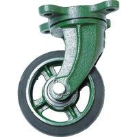 トラスコ中山 TRUSCO 鋼鉄製運搬車用 鋳物金具自在キャスターφ150ゴム車 TAJ150 1個 389ー9438 (直送品)