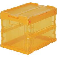 トラスコ中山 TRUSCO スケルコンオリコン20L(蓋付) オレンジ TRSC20 1個 374ー6241 (直送品)