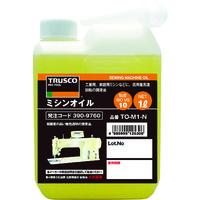 トラスコ中山 TRUSCO ミシンオイル1L TOM1N 1本 390ー9760 (直送品)