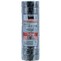 トラスコ中山 TRUSCO 脱鉛タイプ ビニールテープ 19X10m ブルー 10巻入り TM1910B10P  375ー9504 (直送品)
