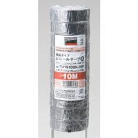脱鉛タイプ ビニールテープ 19X10m 黒 10巻入り TM1910BK-10P 1パック(100m) 375-9482 (直送品)