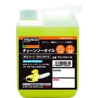 トラスコ中山(TRUSCO) チェーンソーオイル1L TO-CHN-1 1本 390-9816 (直送品)