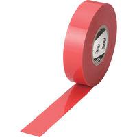 トラスコ中山 TRUSCO プレミアムビニールテープ 19mmX20m レッド TMPM1920R 1巻 375ー9237 (直送品)