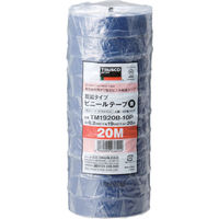 トラスコ中山 TRUSCO 脱鉛タイプ ビニールテープ 19X20m ブルー 10巻入り TM1920B10P  375ー9369 (直送品)