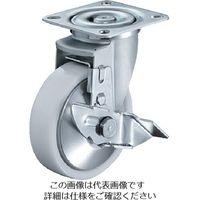 ハンマーキャスター ハンマー 特殊鋼 熱処理金具 自在SP付 ナイロンB車 125mm 413YSNRB125BAR01  392ー9582 (直送品)