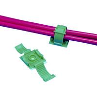 パンドウイットコーポレーション(PANDUIT) 固定具 クリンチャー 粘着テープ付き テレホングレー ARC68-A-C14 390-8046 (直送品)
