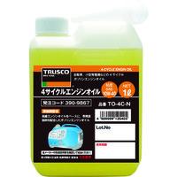 トラスコ中山(TRUSCO) 4サイクルエンジンオイル1L TO-4C-N 1本 390-9867 (直送品)