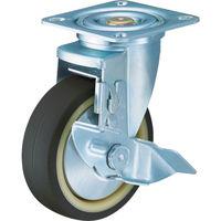 ハンマーキャスター ハンマー 特殊鋼 熱処理金具 自在SP付 ウレタンB車 125mm 413YSUB125BAR01  392ー9612 (直送品)