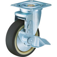 ハンマーキャスター ハンマー 特殊鋼 熱処理金具 自在SP付 ウレタンB車 150mm 413YSUB150BAR01  392ー9621 (直送品)