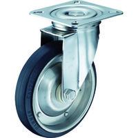 ハンマーキャスター(HAMMER CASTER) オールステンレス 自在 ゴム200mm 300S-RB200-BAR01 1個 392-9515 (直送品)