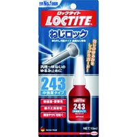 ヘンケルジャパン(Henkel Japan) ロックタイト ねじ緩み止め接着剤 中強度 243 10ml 243-10 1本 389-2093 (直送品)