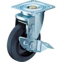 ハンマーキャスター ハンマー 特殊鋼 熱処理金具 自在SP付 ゴムB車 150mm 413YSFR150BAR01  392ー9566 (直送品)
