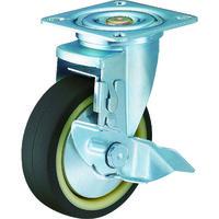 ハンマーキャスター ハンマー 特殊鋼 熱処理金具 自在SP付 ウレタンB車 100mm 413YSUB100BAR01  392ー9604 (直送品)