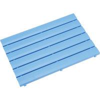ミヅシマ工業 ミヅシマ ストレートスノコ#180 600X1800 ブルー 4300420 1枚 387ー8007 (直送品)