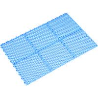 ミヅシマ工業 ミヅシマ グランドチェッカー ブルー 4210300 1枚 387ー7892 (直送品)