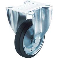 ユーエイキャスター ユーエイ 産業用キャスター固定車 100径ゴム車輪 SK100WP 1個 379ー7198 (直送品)