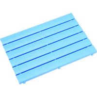 ミヅシマ工業 ミヅシマ ストレートスノコ#85 600X850 ブルー 4300300 1枚 387ー7965 (直送品)
