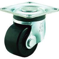 ユーエイキャスター(YUEI CASTER) 重量用キャスター自在車 65径フェノール車輪 HG-65PB 1個 379-6825 (直送品)