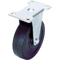 ユーエイ キャスター固定車 径65ハードゴム車輪 ER-65RH 1個 379-6205(直送品)