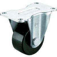 ユーエイキャスター(YUEI CASTER) 重量用キャスター固定車 65径フェノール車輪 HR-65PB 1個 379-6876 (直送品)