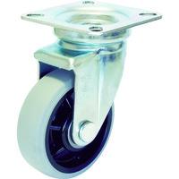ユーエイ 産業用キャスター自在車 100径ナイロンホイルウレタン車輪 GUJ-100 1個 379-6558(直送品)