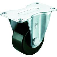 ユーエイキャスター(YUEI CASTER) 重量用キャスター固定車 75径フェノール車輪 HR-75PB 1個 379-6884 (直送品)