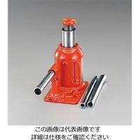 エスコ(esco) 30 ton/180-260mm 油圧ジャッキ(低床型) 1台 EA993BK-30(直送品)