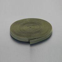 エスコ(esco) 38x1.7mm/50mベルト・平織(PP製・OD色) 1巻(50m) EA628PT-157(直送品)